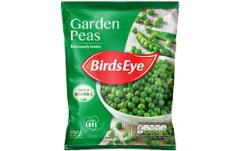 375G Birds Eye Garden Peas 89p @ Farmfoods sutton