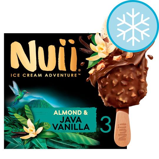 3pk NUII almond & java vanilla ice creams 99p @ Farmfoods sutton