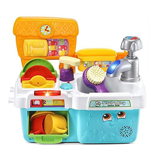 Leapfrog scrub & play toy sink kitchen £20.99 at Amazon