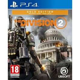 Tom Clancy's The Division 2 Gold Edition PS4 £12.95 delivered at The Gamery