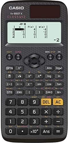 Casio fx-85GTX Scientific Calculator, Black - £10.89 (+£4.49 Non-Prime) @ Amazon