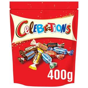 Celebrations 400g bags £2.99 + Buy One Get One Free @ Lidl (Southampton)