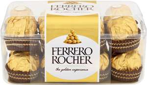 Ferrero Rocher Chocolate Pralines Gift Box of Chocolate 16 Pieces (200g) - £3 (Minimum spend / Delivery applies) @ Iceland