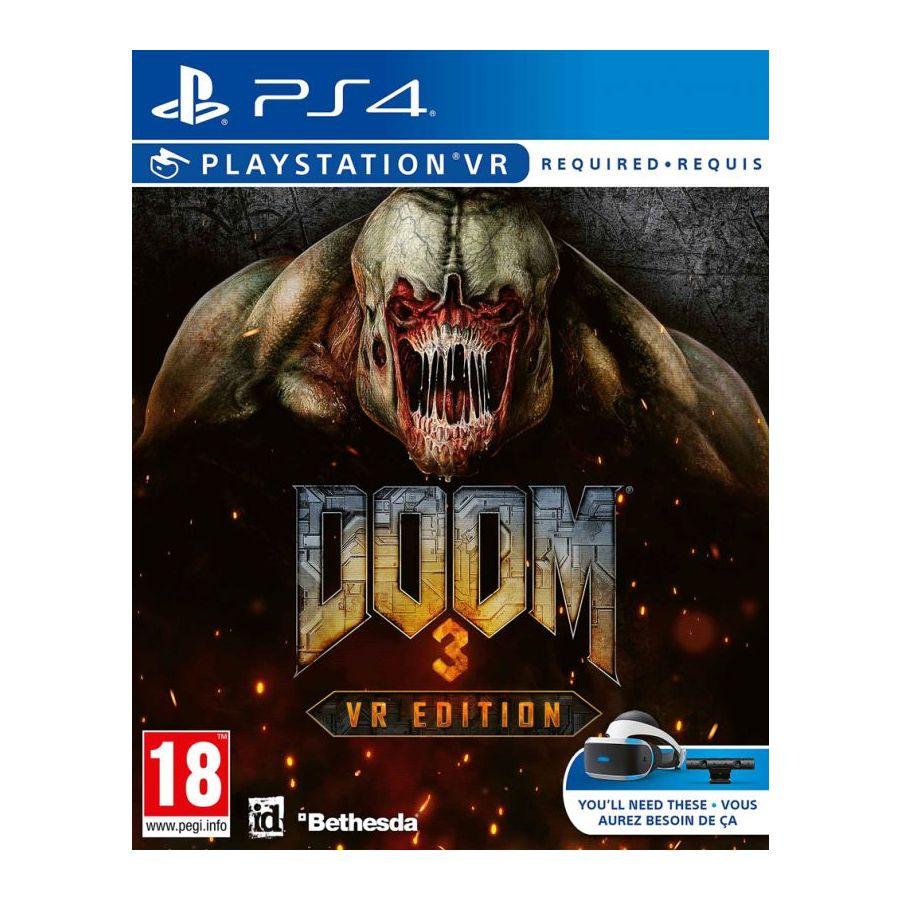 DOOM 3 VR Edition (PS4 PSVR) Pre-order - £14.95 delivered at The Game Collection
