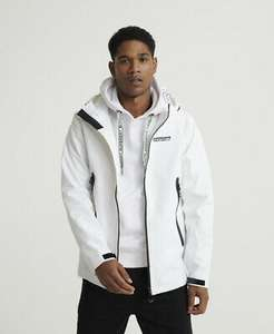 Superdry Mens Hydrotech Waterproof Jacket RRP £99.99 - BUY FROM THE OFFICIAL SUPERDRY EBAY STORE - £39.99
