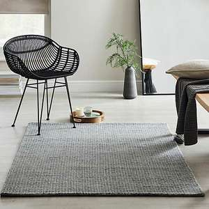 Dunelm Boucle Wool Rug in various sizes and two colours (e.g. 120cm x 170cm in grey for £35.45 delivered) @ Dunelm