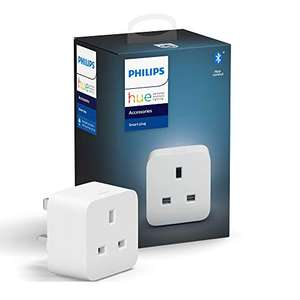 Philips Hue Smart Plug with Bluetooth, Works with Alexa and Google Assistant - £19.99 Delivered + £4.49 Non Prime @ Amazon