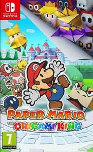 Paper Mario: The Origami King (Switch) PEGI 7+ Adventure - £25.93 delivered using code @ Music Magpie / eBay