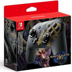 Nintendo Switch Pro Controller Monster Hunter Rise Edition - £59.49 delivered using code @ boss_deals/ ebay