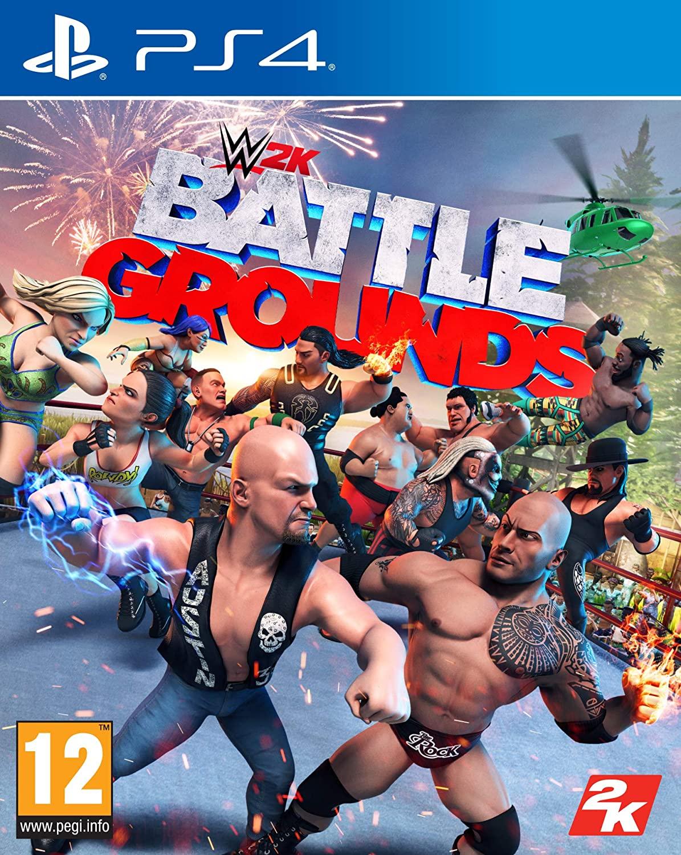 WWE 2K Battlegrounds (PS4) - £9.99 Delivered @ Base