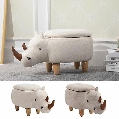 Kids Rhino Storage Stool (Cream) £29.74 delivered, using code @ eBay / 2011homcom