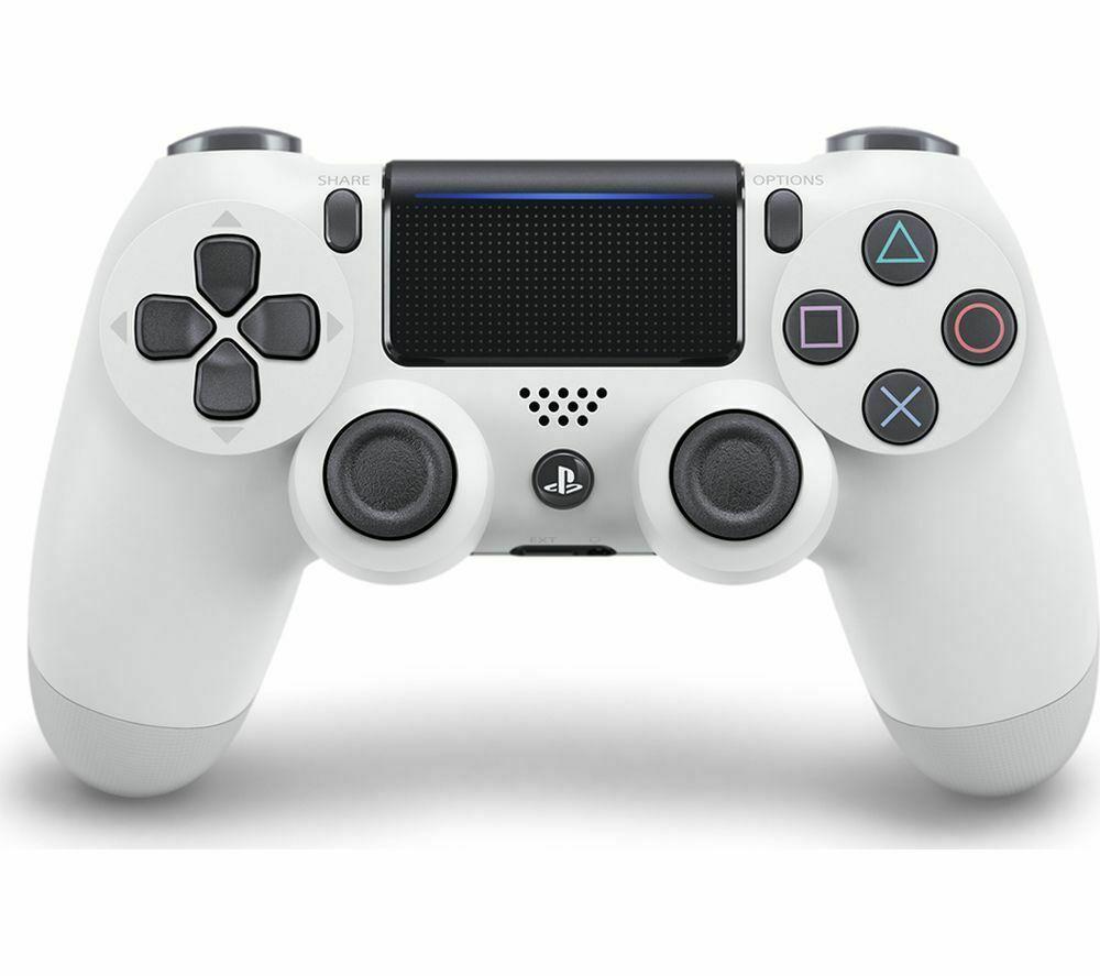PLAYSTATION DualShock 4 V2 Wireless Controller - White £44.99 Currys on eBay