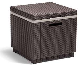 Allibert by Keter California Ice Cube Outdoor Cooler, Brown, 42 x 42 x 41 cm @ £35.36 (UK Mainland only) Sold by Amazon EU @ Amazon