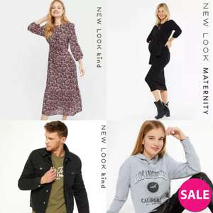 Up to 70% Off Sale Items From £1 + Delivery £2.99 @ New Look