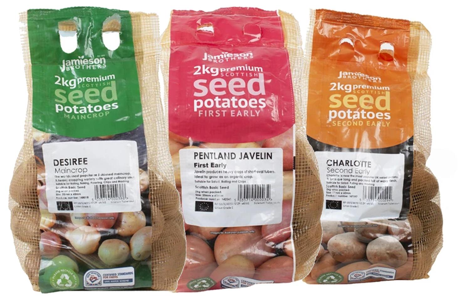 2KG Desiree + 2KG Pentland Javelin + £2KG Charlotte Chitting Potatoes (Other Varieties too) £8.08 with code + delivery @ YorkshireTrading