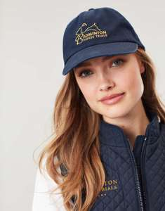 Joules Womens Badminton Cap - French Navy - One Size - £4.95 @ Joules / eBay