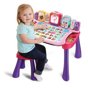 VTech Touch & Learn Activity Desk Pink £47.99 @ Smths