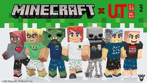 Free Minecraft x Uniqlo Skin Pack Volume 2 DLC For PC, Xbox, PS, Switch, Mobile at Minecraft.net