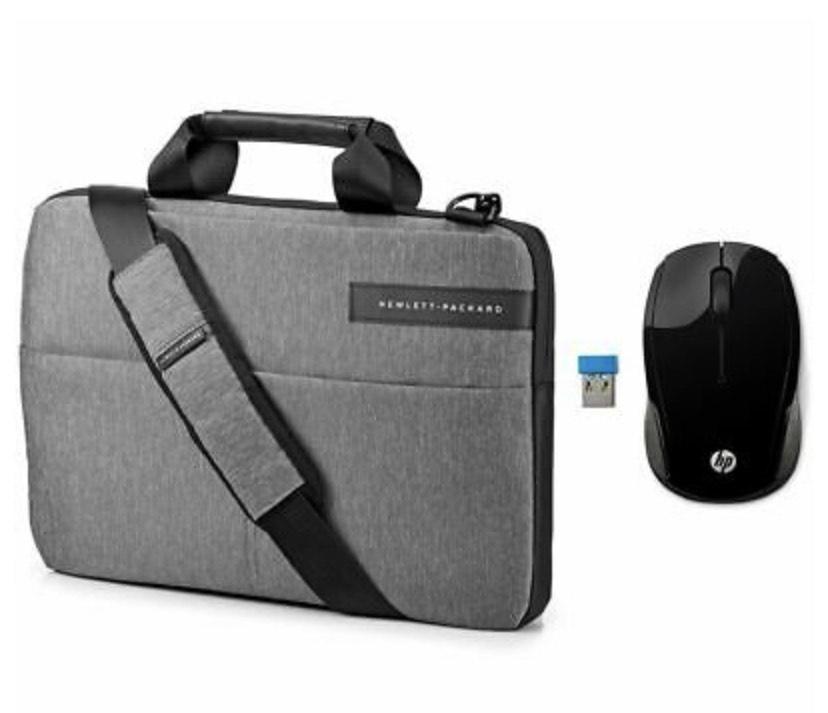 "HP Signature Slim Topload 14"" Laptop Messenger Bag & Wireless Mouse 200 Bundle - £24.99 delivered Currys"