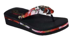Vinyasa sketchers ladies toe post sandal - £19.20 Delivered @ Sketchers