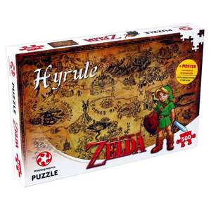 The Legend of Zelda Hyrule Field 500 Piece Jigsaw - £8 Delivered with code at Winning Moves