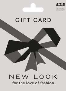 £25 New Look Gift Card £21.25 at Amazon