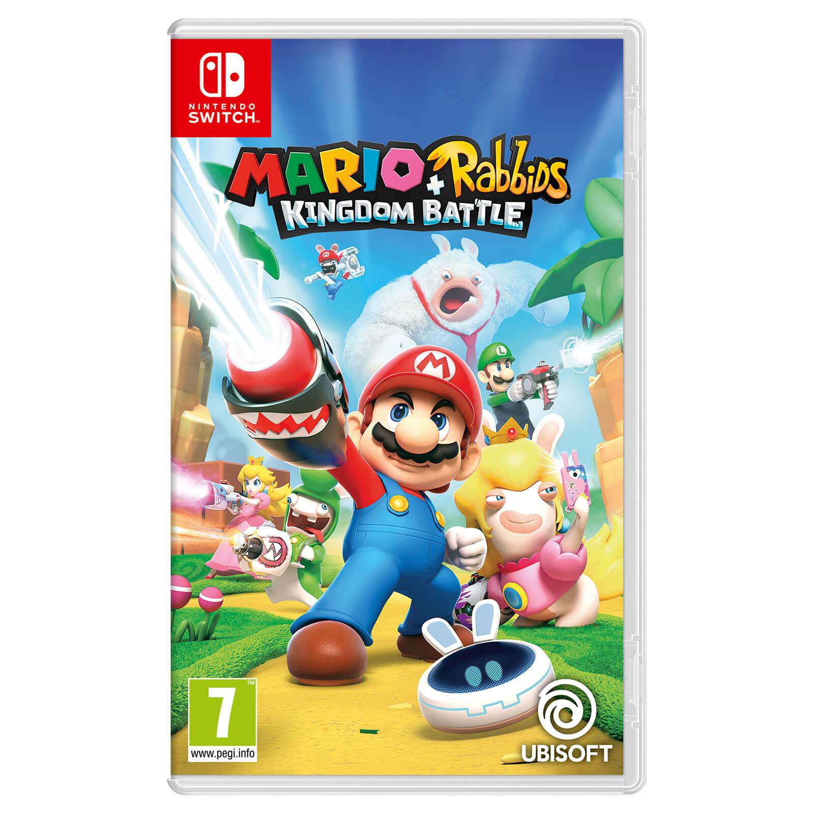 Mario + Rabbids Kingdom Battle (Nintendo Switch) - £16.22 (+£2.99 Non Prime) sold by Amazon EU (UK mainland delivery)