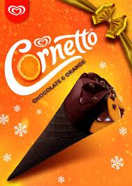 Cornetto chocolate orange 360ml 50p at Asda Sutton