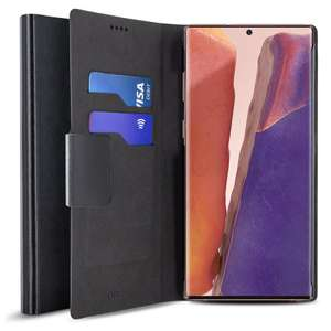 Olixar Leather-Style Galaxy Note 20 5G Wallet Stand Case £4.99 plus £1.34 delivery @ Mobile Fun