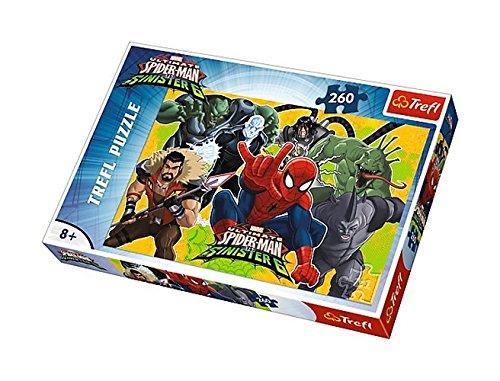 """Trefl 13218 """"Spiderman in Action Puzzle (260-Piece) £4.10 @ Amazon Prime / £8.59 Non Prime"""