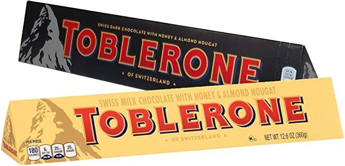 Toblerone 360g Dark and Milk - £3 instore @ Poundland, Harrogate
