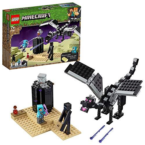 LEGO 21151 Minecraft The End Battle Collectible - £14.99 Prime / (+£4.99 Non Prime) delivered @ Amazon