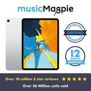 2018 iPad Pro 11 Inch - 64GB VERY GOOD - £488.89 delivered using code @ eBay / Music Magpie