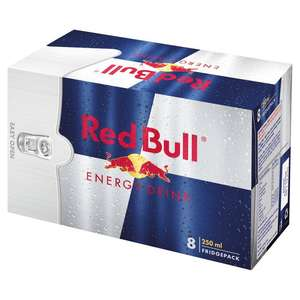 Red Bull 8x250ml for £6.50 (Minimum Basket / Delivery Fees Apply) @ Morrisons