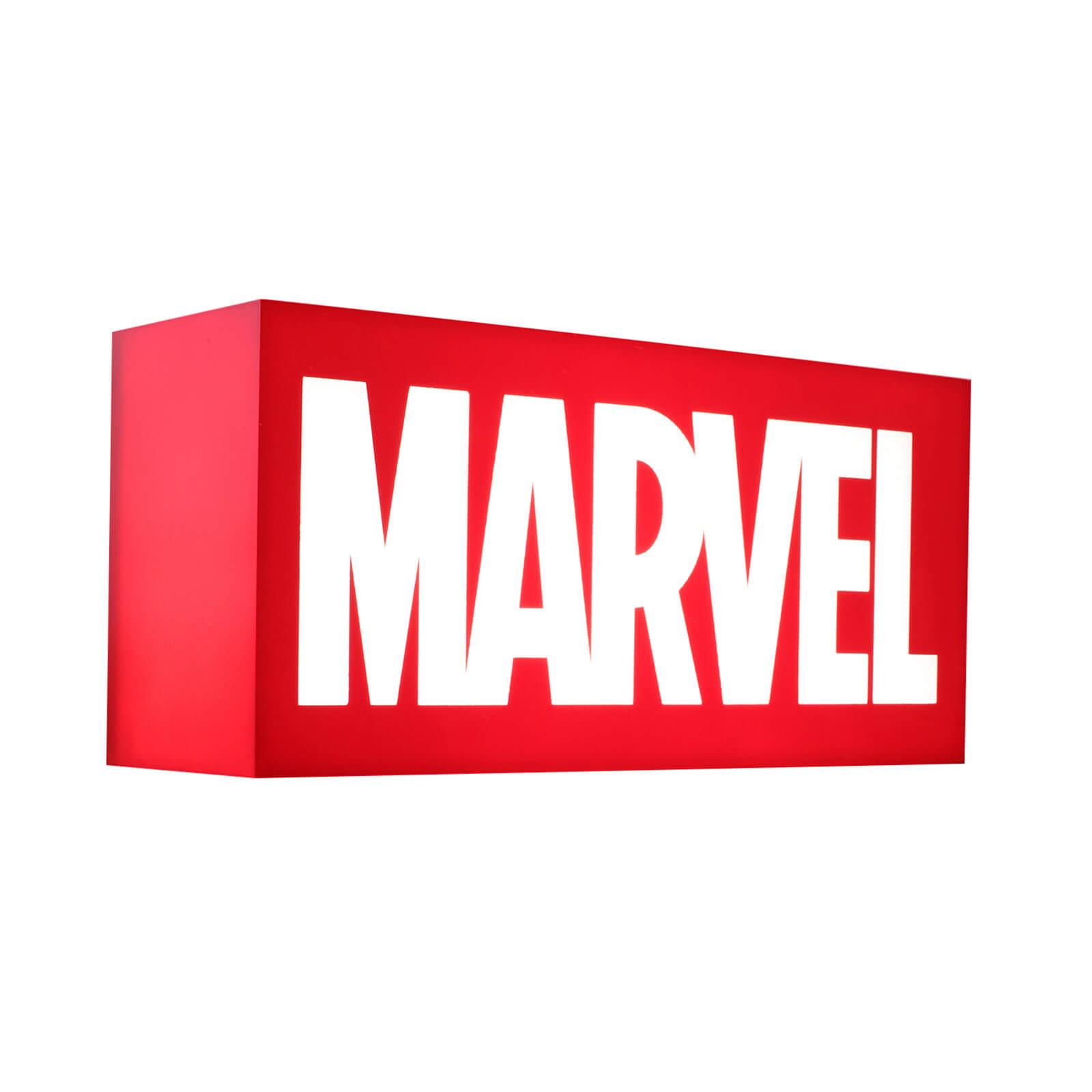 Hot Toys Marvel Logo Mini Lightbox - UK Exclusive £41.98 delivered at Zavvi