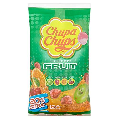 Chupa Chups Fruity Lollipops Sharing Bag, (Pack of 120) - £10.41 Prime (£14.90 Non Prime) @ Amazon Amazon