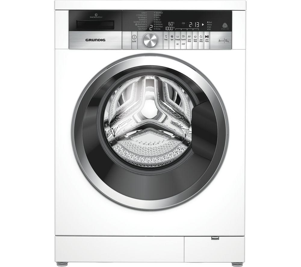 GRUNDIG GWN410460CW 10 kg 1400 Spin Washing Machine - White, manufacturer's guarantee 5 years £431.99 at Currys PC World