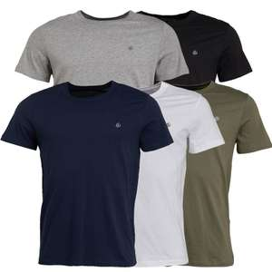 5 Pack - Jack and Jones tee shirts - Small Only £16.99 + £4.99 del at MandM Direct