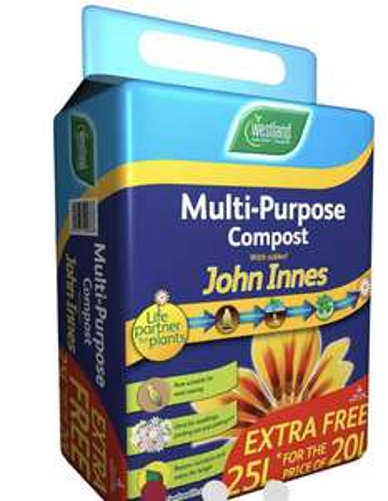 Westland Multi-Purpose Compost with John Innes 25L - £3 (+ £5 delivery) @ Wilko