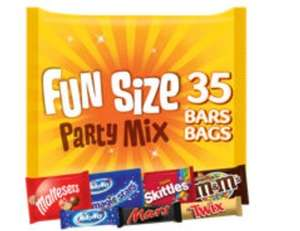Mars party mix funsize 35 chocolates £5 (+ Delivery Charge / Minimum Spend Applies) @ Asda