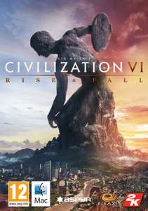 Sid Meier's Civilization VI - Rise and Fall DLC (Steam) - £6.72 (with code) at AllYouPlay.com