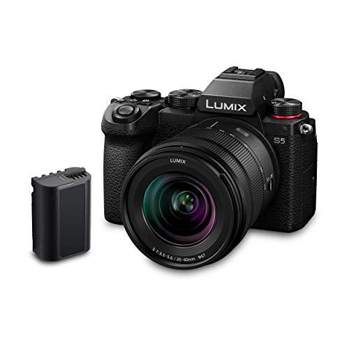Panasonic LUMIX DC-S5 S5 Full Frame Mirrorless Camera + 20-60mm lens + Extra Battery £1,749.99 @ Amazon