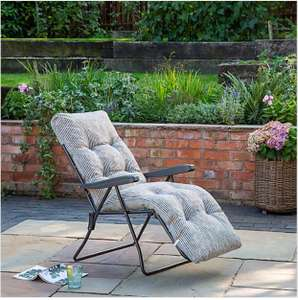 Padded Foldable Striped Lounger £30 + £9.95 Delivery @ Dunelm