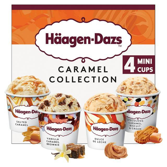 Haagen-Dazs Caramel Swirl Minicup Gelato Collection - £1 in-store @ Asda Portadown