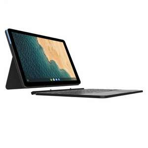 """Lenovo Chromebook Duet 10.1"""" FHD IPS 400nits 4GB RAM 64GB eMCP 2 in 1 Laptop £246.49 with code at Laptop Outlet eBay"""