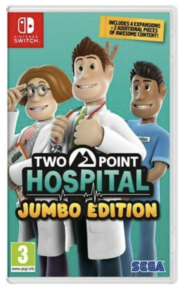 Two Point Hospital - Jumbo Edition (Nintendo Switch) - £25.49 @ eBay / boss_deals