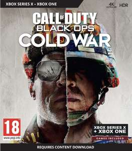 Call of Duty®: Black Ops Cold War (Xbox one/ Xbox Series X) £38.99 @ Amazon uk