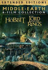 Middle-Earth Extended Editions: 6 Film 4K Collection £38.99 @ Google Play