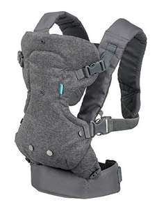 Infantino Flip Advanced 4-in-1 Baby Carrier £7.99 (+£4.49 nonPrime) @ amazon