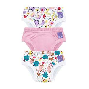 Bambino Mio, Potty Training Pants, Puddle Pigs, 2-3 Years, 3 Pack - £3.50 (+£4.49 Non Prime) @ Amazon